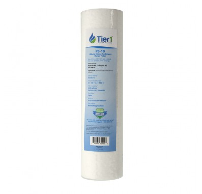 10 X 2.5 Spun Wound Polypropylene Replacement Filter by Tier1 (5 micron)