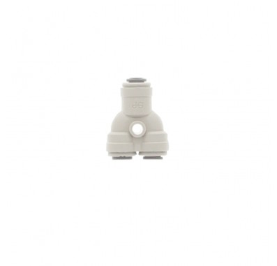 2DIVIDER-44 - 1/4-Inch Tube Two-Way Divider Quick Connect Fitting