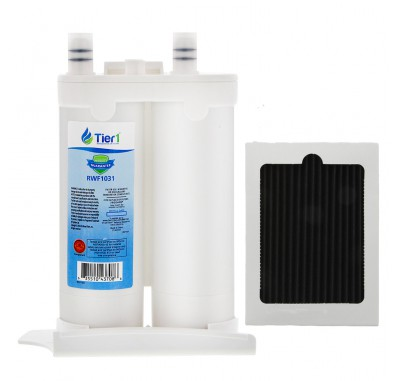 Tier1 Frigidaire WF2CB and Frigidaire PAULTRA Comparable Refrigerator Water Filter and Air Filter Combo