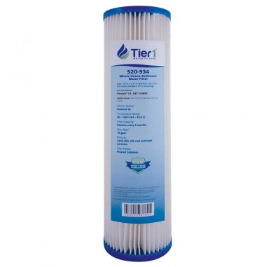 Pentek S1 Comparable Whole House Water Filter by Tier1