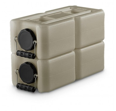 1833-0003 3.5 Gallon Stackable Water and Food Storage by WaterBrick
