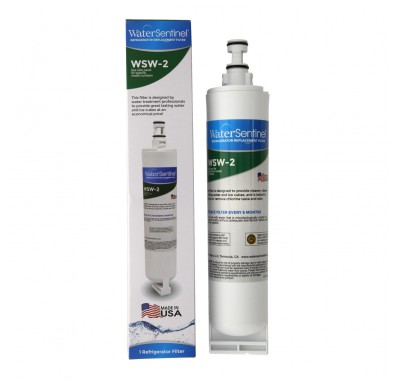 WaterSentinel WSW-2 Refrigerator Water Filter (4396510 Compatible)
