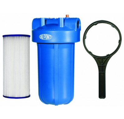 WFHD13001B Universal Heavy Duty Whole House Filtration System by DuPont