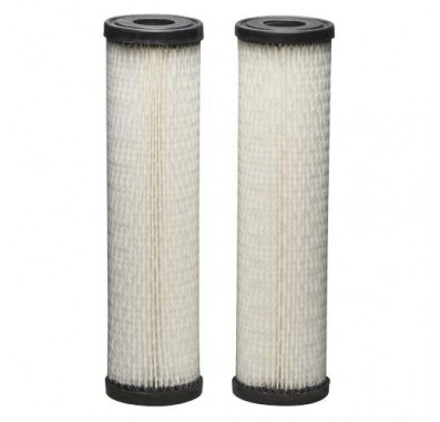 Whirlpool WHKF-WHPL 10 x 2.5 Pleated Sediment Water Filters (2-Pack)