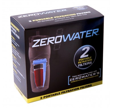 ZeroWater ZR-230 Replacement Filtered Tumbler Water Filters (2-Pack)