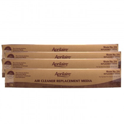 Air Purifier Replacement Filter 210 by Aprilaire (4-Pack)