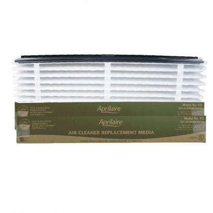Air Purifier Replacement Filter 413 by Aprilaire (2-Pack)