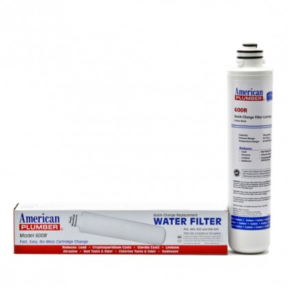 American Plumber 600R Undersink Filter Replacement Cartridge