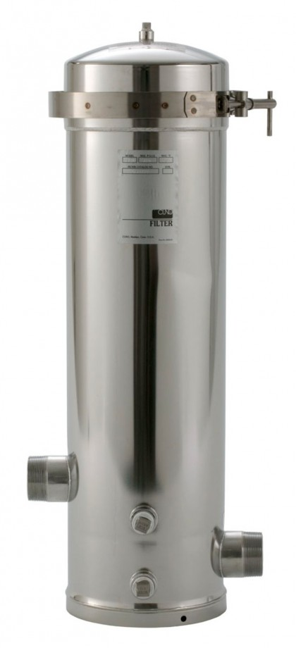 SS8 EPE-316L Whole House Stainless Steel Filter Housing: 3M Aqua-Pure