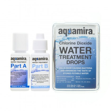Aquamira 67200 Water Treatment Drops (1 oz.)