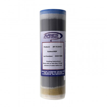Aries AF-10-2010 GAC/KDF Water Filter Cartridge