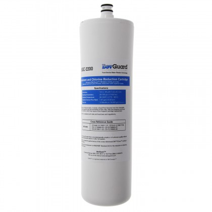 BevGuard BGC-2200 Water Filter with Compressed Carbon Block Cartridge