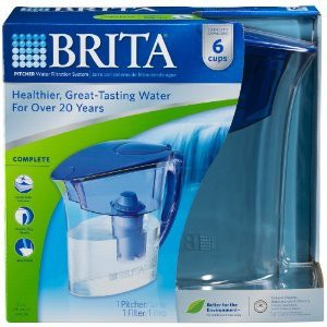 Brita ATLANTIS-BLUE-PITCHER 48-Ounce Water Pitcher