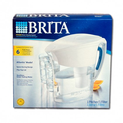 Brita OB32 Atlantis Water Filter Pitcher 42412