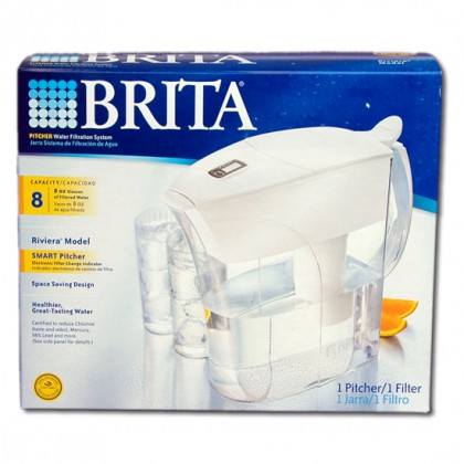 Brita OB35 Riviera Water Filter Pitcher 42557