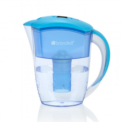 H2O+ Brondell H10-B 6 cup Water Filter Pitcher