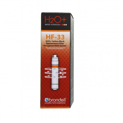 H2O+ Brondell HF-33 Cypress Carbon Block Water Filter