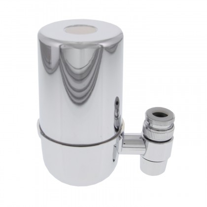 Crystal Quest CQE-FM-00501 Faucet Mount Filter System (Chrome)