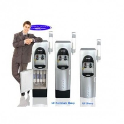 Crystal Quest Sharp Ultrafiltration Floor Water Cooler
