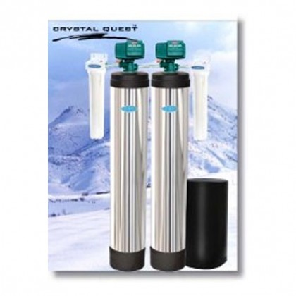 Crystal Quest Whole House Multi/Iron, Hydrogen Sulfide 1.5 Water Filter System
