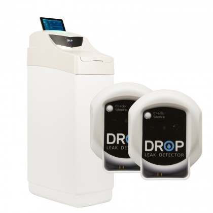 Drop 24,000 Grain Cabinet Softener with Drop Hub and Leak Detectors