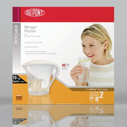 WFPT200X DuPont Mirage Filtered Water Pitcher