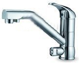 Dual-Function Hot/Cold and RO Chrome Classic Faucet FCT-AQUA (GKD01)