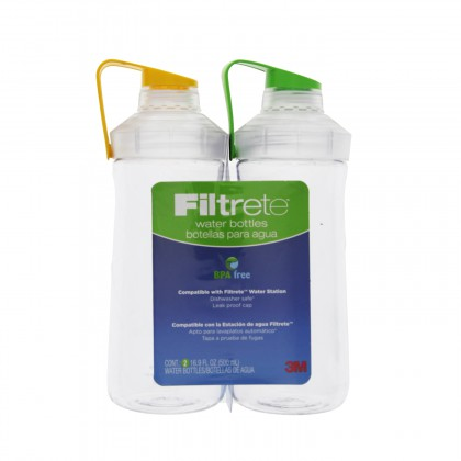 RB01-MC02-2PK Water Bottles by Filtrete