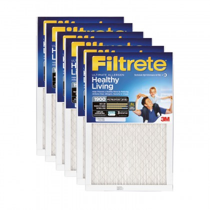 24x24x1 3M Filtrete Ultimate Allergen Filter (6-Pack)