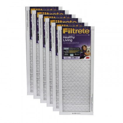 12x30x1 3M Filtrete Ultra Allergen Filter (6-Pack)