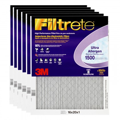 3M Filtrete 2000DC-6 Ultra Allergen Reduction Filters (6 Pack)