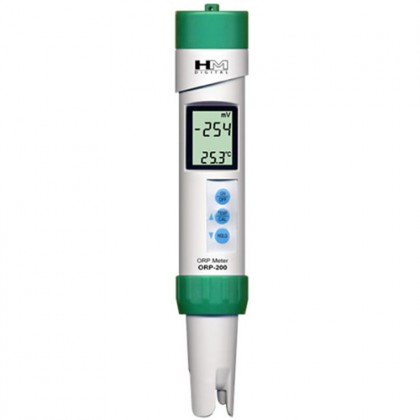 HM Digital ORP-200 Waterproof Meter for ORP (Redox) and Temperature