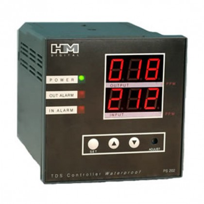 HM Digital PS-202 Dual Display TDS Controller for Two Water Lines