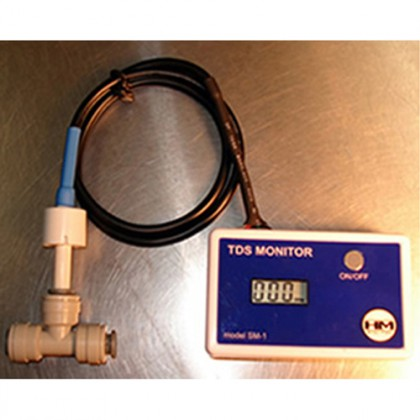 HM Digital SM-1 In-Line TDS Monitor for Single Water Line