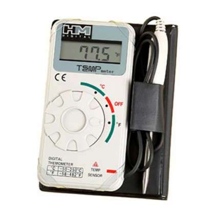 HM Digital TM-1 Industrial Grade Digital Thermometer with Carrying Case