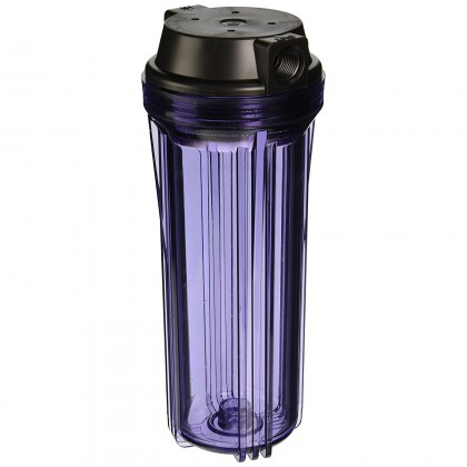 Hydronix HF2-10CLBK12 Clear Water Filtration Housing
