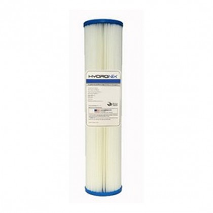 Hydronix SPC-45-2005 20-inch x 4.5-inch Pleated Sediment Water Filter 5 Micron