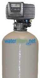 CHLOR-100DM-WF Fleck 5600sxt Metered Chlorine Reduction Backwash Water Filter