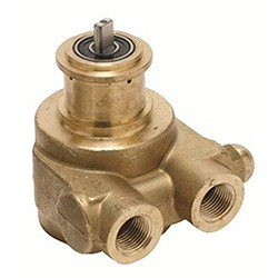 Fluid-O-Tech Pump, 1001 Brass Rotary Vane w/ By-Pass 5.3 GPM