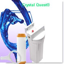 Crystal Quest Commercial Big-Inline Replaceable Single Fluoride Water Filter System