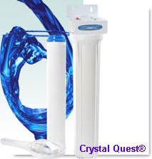 Crystal Quest Commercial 20-inch-Inline Replaceable Single Multi Water Filter System