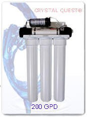 Crystal Quest Commercial Reverse Osmosis 200 GPD Water Filter System