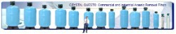Crystal Quest Commercial/Industrial Arsenic Water Filter System - 40 Cu. Ft.