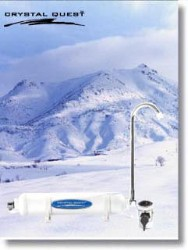 Crystal Quest Camping/Traveling Water Filter System