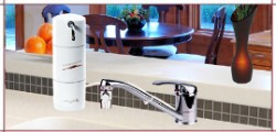 Crystal Quest Countertop Disposable Single Fluoride Water Filter System