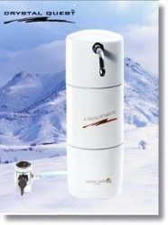Crystal Quest Countertop Disposable Single Nitrate Water Filter System