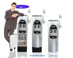 Crystal Quest Premium Sharp Ultrafiltration Floor Water Cooler