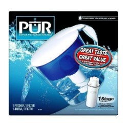 PUR CR-1510R Water Filter Pitcher