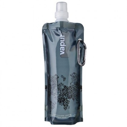 Vapur Anti-Bottle 10123 Cool Grey Water Bottle (18 oz / 0.5 L)