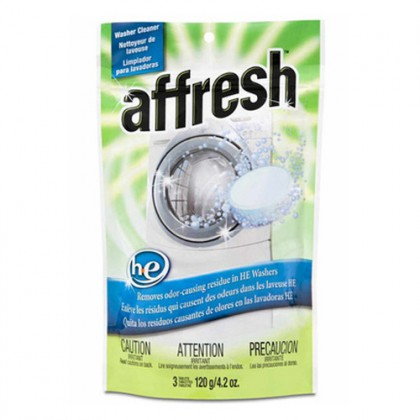 Whirlpool W10135699 Affresh High Efficiency Washing Machine Cleaner (3 Tablets)